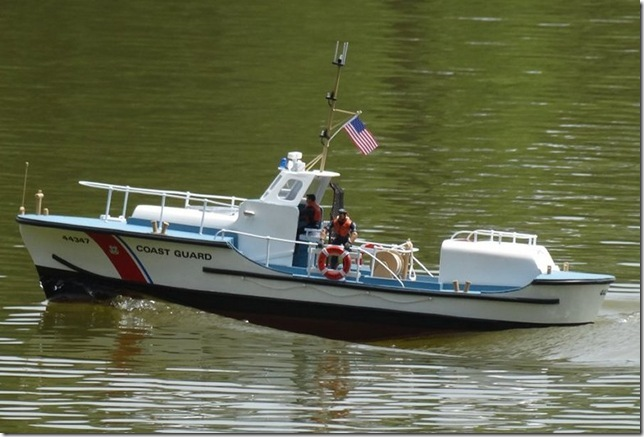 Howard Howe's Dumas Coast Guard boat (1/16 scale).