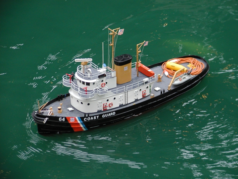 US Coast Guard Tug